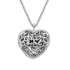 Přívěsek Hot Diamonds Large Heart Filigree Locket