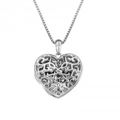 Přívěsek Hot Diamonds Small Heart Filigree Locket(1)
